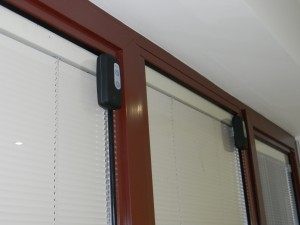 slimline motorised blinds