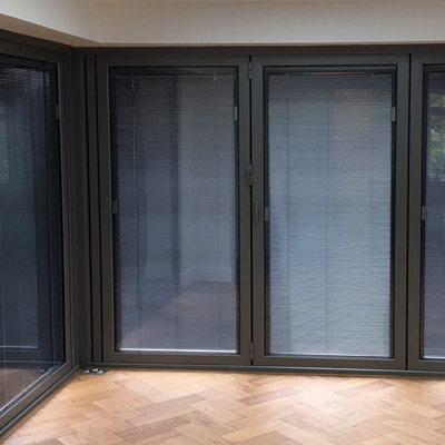 Between Glass Blinds Magnetic Motorised Integral Blinds